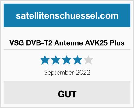 VSG DVB-T2 Antenne AVK25 Plus Test