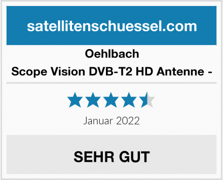 Oehlbach Scope Vision DVB-T2 HD Antenne - Test