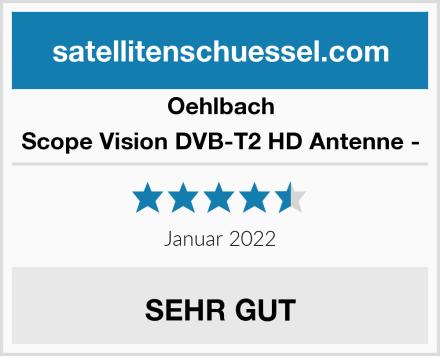 Oehlbach Scope Vision DVB-T2 HD Antenne - Test