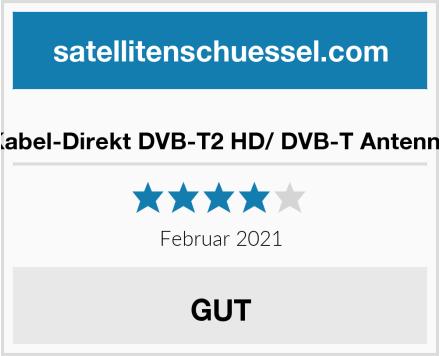 Kabel-Direkt DVB-T2 HD/ DVB-T Antenne Test
