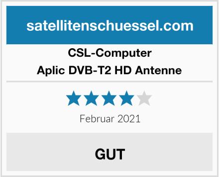 CSL Computer Aplic DVB-T2 HD Antenne Test