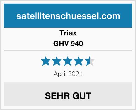 Triax GHV 940 Test