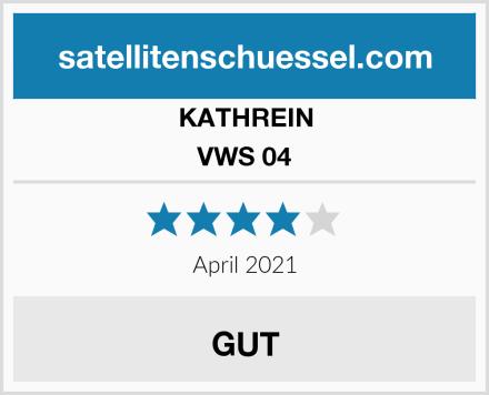 KATHREIN VWS 04 Test