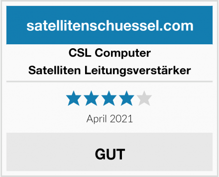 CSL Computer Satelliten Leitungsverstärker Test