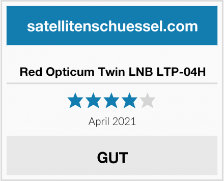 Red Opticum Twin LNB LTP-04H Test