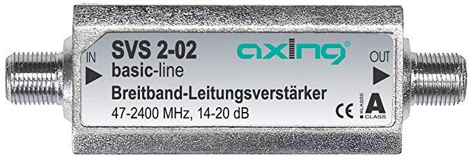 Axing SVS 2-02 Satelliten-Leitungsverstärker