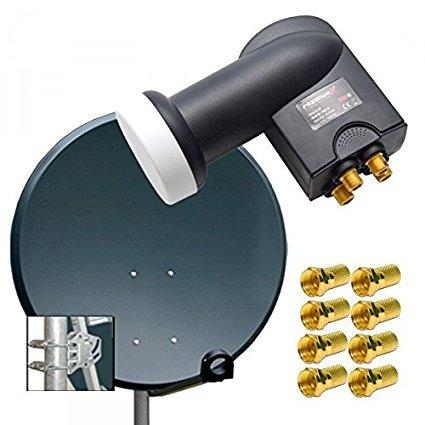 Premiumx Digital SAT Anlage 100 cm