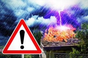 So schützen Sie Ihre Satellitenschüssel vor einem Blitzeinschlag