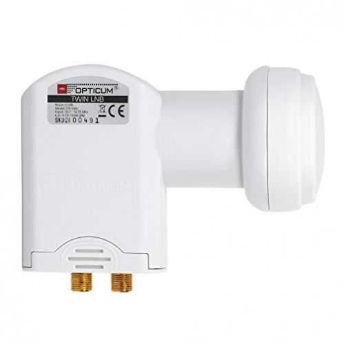 Red Opticum Twin LNB LTP-04H
