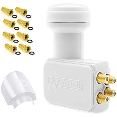 Anadol Gold Line Digital Quattro LNB für Multischalter