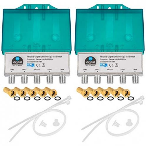 HB-DIGITAL Store PRO DiseqC Schalter 4/1