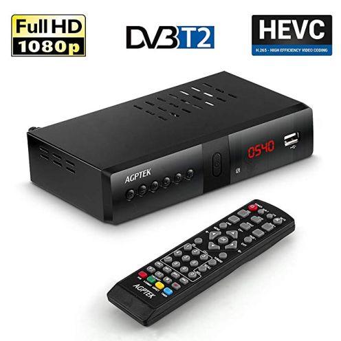 AGPTEK Full HD DVB-T/T2 Receiver