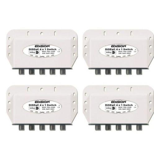 Edison 4x DiseqC-Schalter 4/1