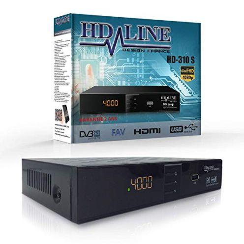 HD-Line 310 Digitaler Satelliten Receiver