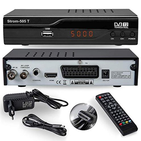 HD-Line Strom 505 DVB-T2 Receiver