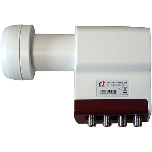 Inverto Red Extend Quad LNB (0,3dB, 40mm)