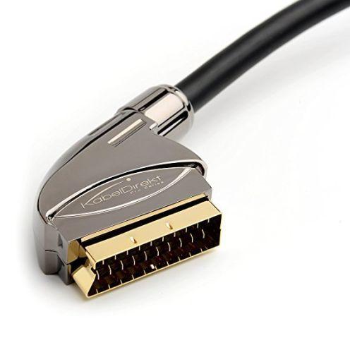 KabelDirekt SCART Kabel - 3m