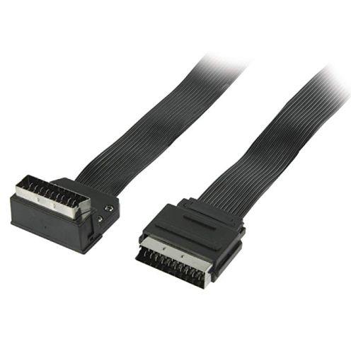 Eurosell AV Kabel Flachband Scartkabel
