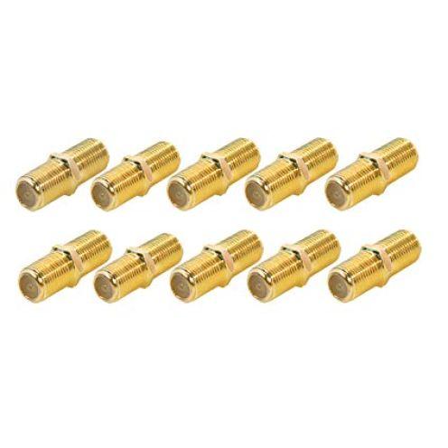 Smartsat F-Verbinder vergoldet 10er Pack