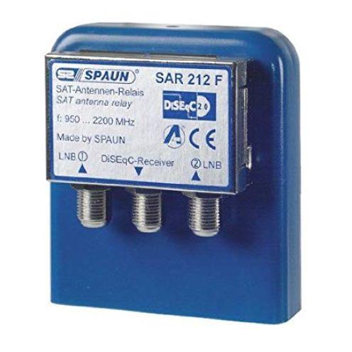 Spaun SAR 212 WSG Sat Antenne Relay